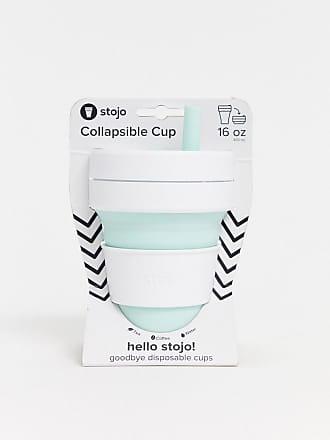 Stojo biggie mint pocket cup 16oz-Green