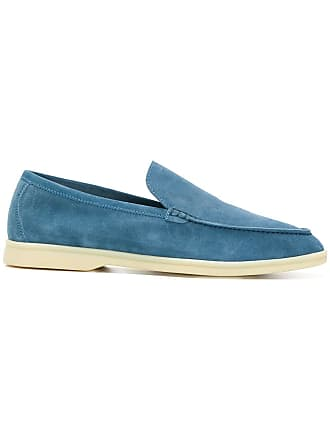 Loro Piana suede classic loafers - Blue