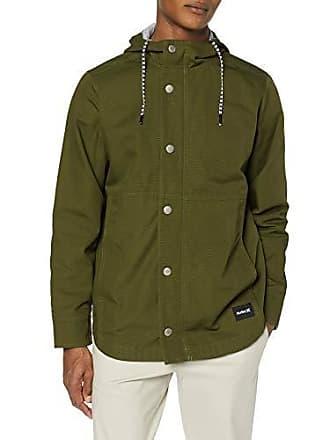 Hurley Mens Mac A Cotton Jacket, Olive Canvas, M