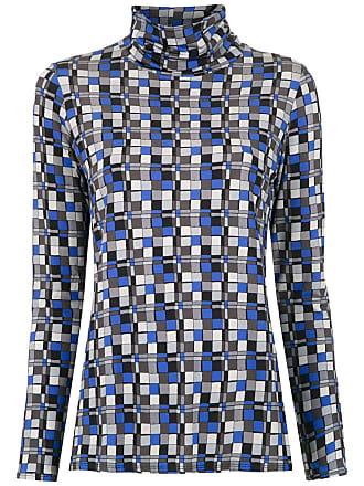 Alcaçuz Blusa Levar estampada - Azul