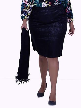 Vickttoria Vick Saia Renda Preta (44)