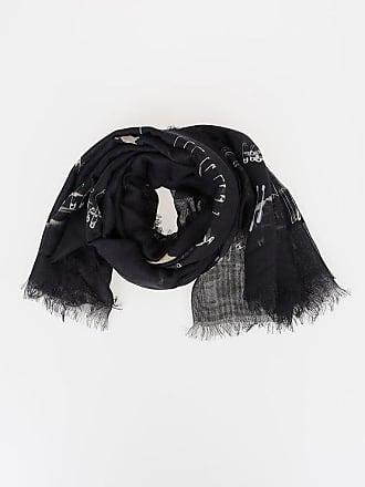 Alexander McQueen 100x130cm Modal Silk Foulard size Unica