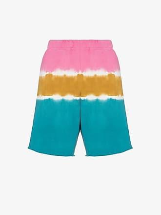 The Elder Statesman dip-dye cotton shorts