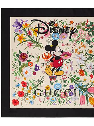 Gucci Disney x Gucci silk scarf