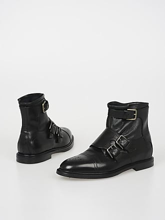 Dolce & Gabbana Leather MICHELANGELO Ankle Boots size 40,5