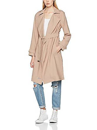 New Look Lightweight Mac, Manteau Femme, Marron (Tan 18), 44 69f8b12117f