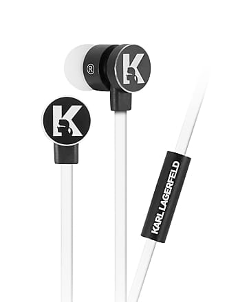 Karl Lagerfeld White Wire Earphone