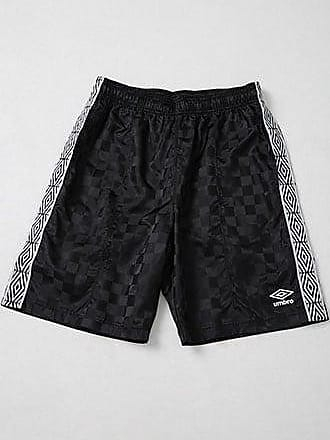 21 Men Umbro Checkered Logo Shorts at Forever 21 Black