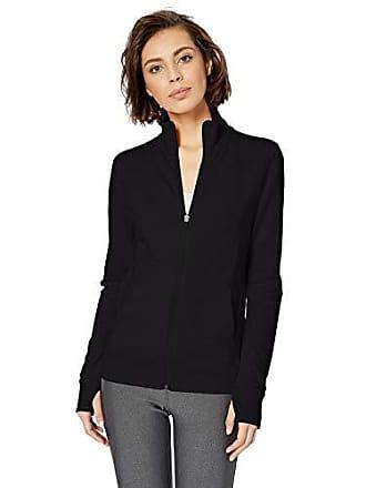 Amazon Essentials Womens Studio Terry Long-Sleeve Full-Zip Jacket, Graphite, XS