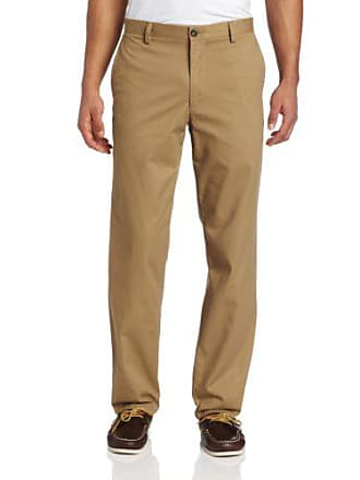 Dockers Mens Easy Khaki D2 Straight-Fit Flat-Front Pant, 36W x 29L, New British Khaki