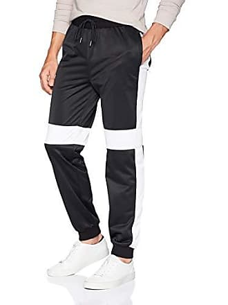 2(x)ist Mens Track Suit Pant Pants, Black/White/Scooter, Large