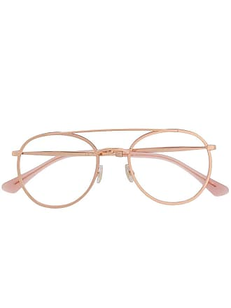 Jimmy Choo Eyewear Armação de óculos redonda - Rosa