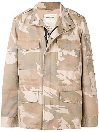 Zadig & Voltaire Bernard camouflage coat - Neutrals