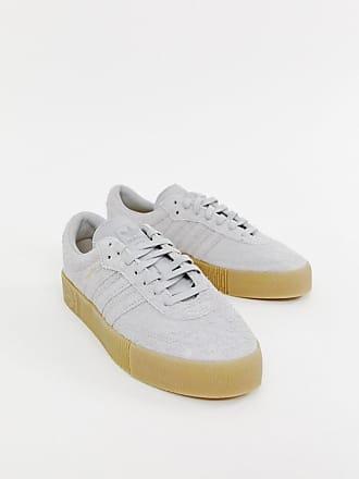 new style 437f7 c7988 adidas Originals Zapatillas de deporte en gris con suela de goma oscura  Samba Rose de adidas