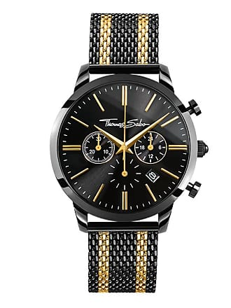 Thomas Sabo Thomas Sabo Mens Watch black WA0288-284-203-42 MM