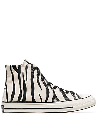 ae9dc41d9 Converse black and white Chuck Taylor All Stars 70s zebra print high-top  sneakers