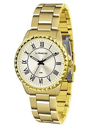 Lince Relógio Lince Feminino Ref: Lrg4561l C3kx Clássico Dourado