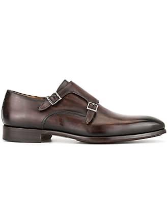 Magnanni monk shoes - Brown