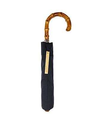 London Undercover Whangee Handle Telescopic Umbrella - Mens - Navy