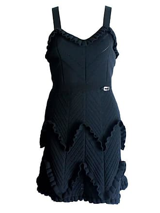 d27b405bd85 Dior Black Christian Dior 3d Knit Cocktail Dress