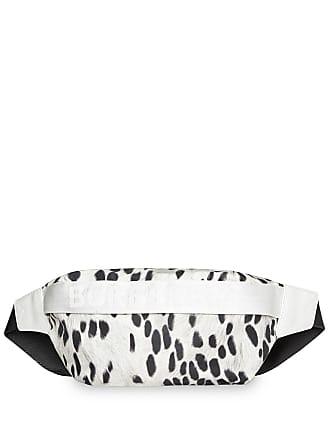 Burberry Bolsa com animal print média - Branco