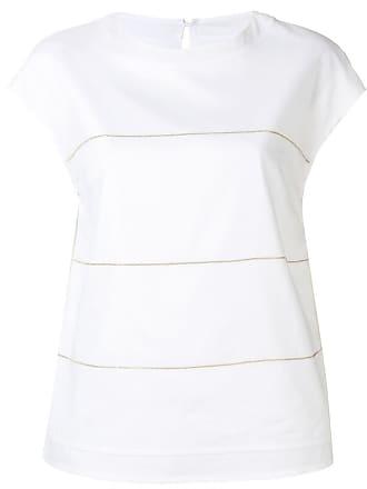 PESERICO Camiseta com aplicação - Branco