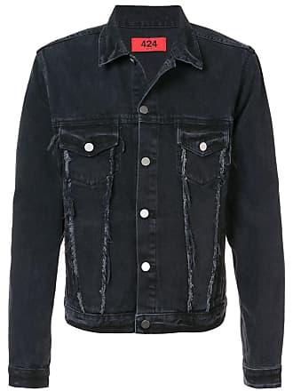 424 Trucker denim jacket - Preto