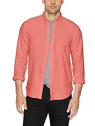 Joe's Mens Classic Woven Shirt, Coral Reef, S