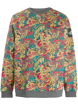 The North Face baroque print sweater - Yellow