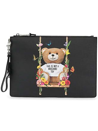 Moschino Toy Bear clutch - Black