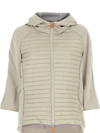 Save The Duck Jacket for Women On Sale, Beige, Nylon, 2017, 2