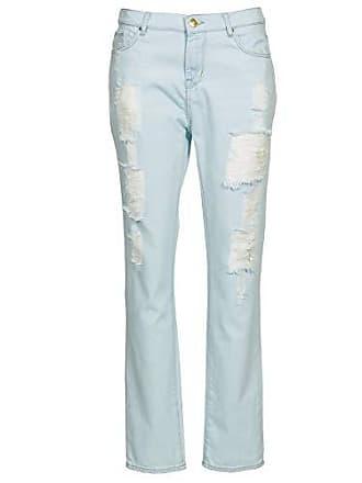 Cimarron Boy Jeans Damen Blau - DE 36 (US 28) - Straight Leg Jeans fb6457b9db