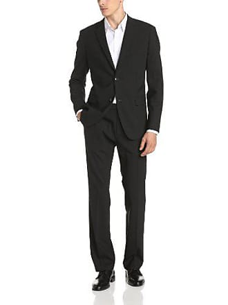 Theory Mens Wellar Half Canvas New Tailor Suit Jacket, Black, 44