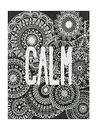 Trademark Fine Art Calm Mandala by Nicky Kumar, 35x47-Inch
