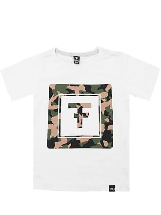 Fatal Surf Camiseta Fatal Menino Frontal Branca