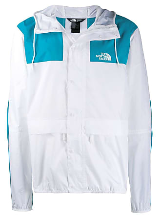 The North Face two tone hooded jacket - White