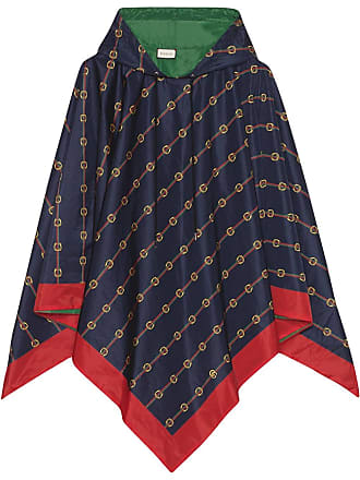 1b325f04024 Gucci Reversible nylon poncho - Blue