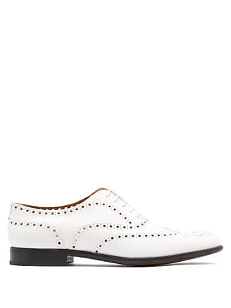 d71d8696ba Churchs Burwood Leather Brogues - Womens - White