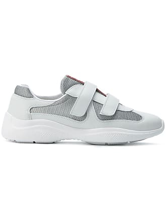 Women s Prada® Leather Sneakers  Now up to −58%  97a691e99