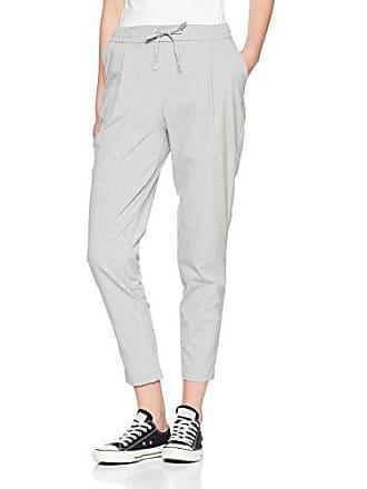Pimkie Pantalon carotte gris clair taille élastique Femme - Taille S bef10dda7e12