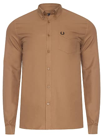 Fred Perry CAMISA MASCULINA CLASSIC OXFORD - MARROM