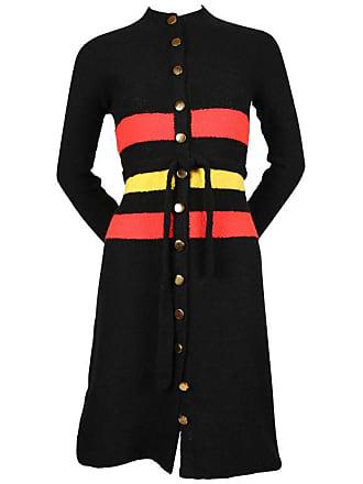acab4238d460 St. John 1960s St John Knits Boucle Dress With Brass Buttons And Matching  Belt