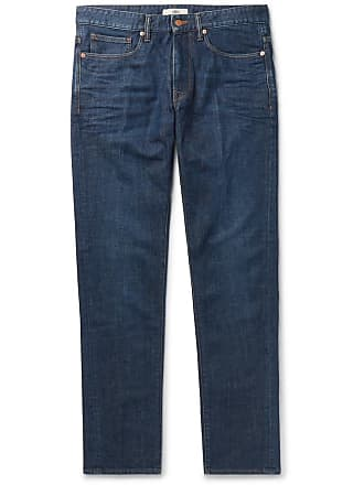 Incotex Slim-fit Denim Jeans - Indigo