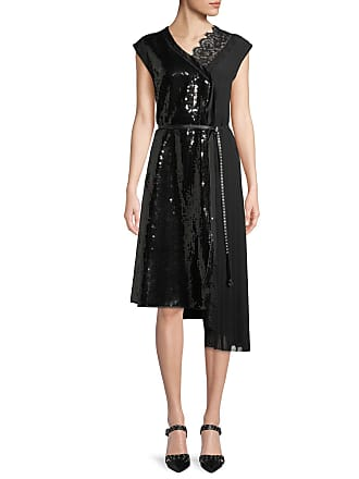ed1367f3cae Marc Jacobs Sleeveless Sequined A-Line Cocktail Dress w  Lace