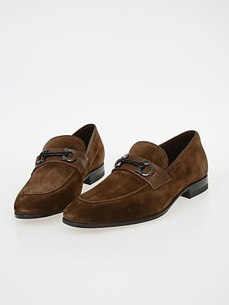 Salvatore Ferragamo Suede Leather Loafers size 6,5
