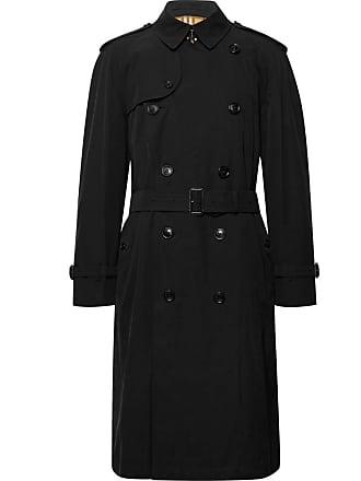 05d31c18d0b3c Burberry Westminster Cotton-gabardine Trench Coat - Black