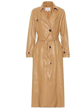 Nanushka Chiara faux leather trench coat