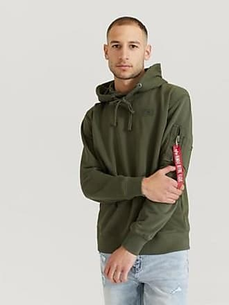 Alpha Industries HUVTRÖJA X-fit Hoody Grön