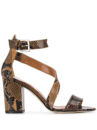 PARIS TEXAS heeled sandals - Marrom
