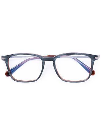 Brioni Armação de óculos quadrado - Cinza